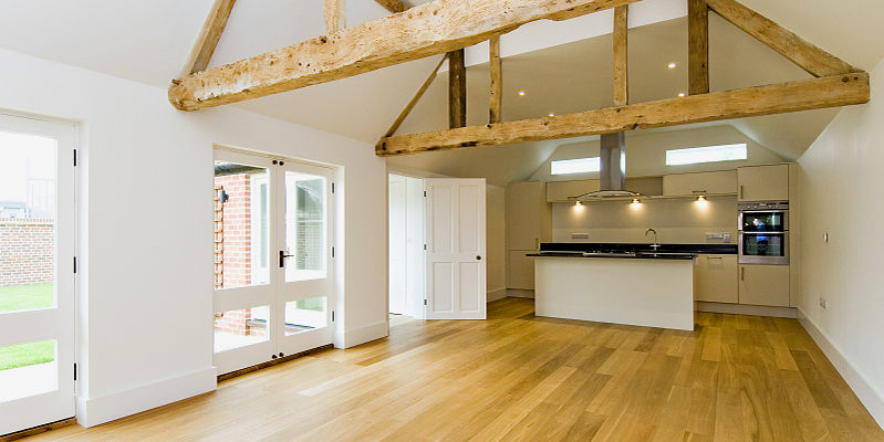 Kitchen in North Barn, Tredington, Gloucestershire