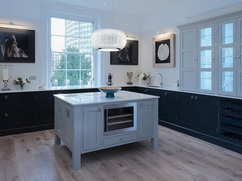 Kitchen – Montpellier Grade II listed apartment, Cheltenham