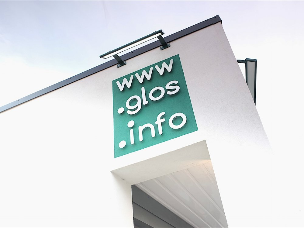 Glos Info, Cheltenham, refurbished office exterior