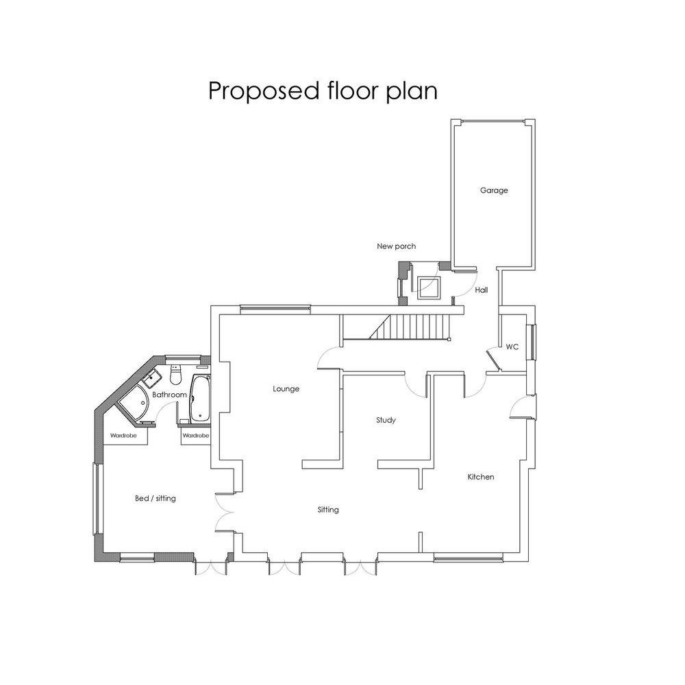 existing proposed floor plans 8 Monks Park rev1.jpg