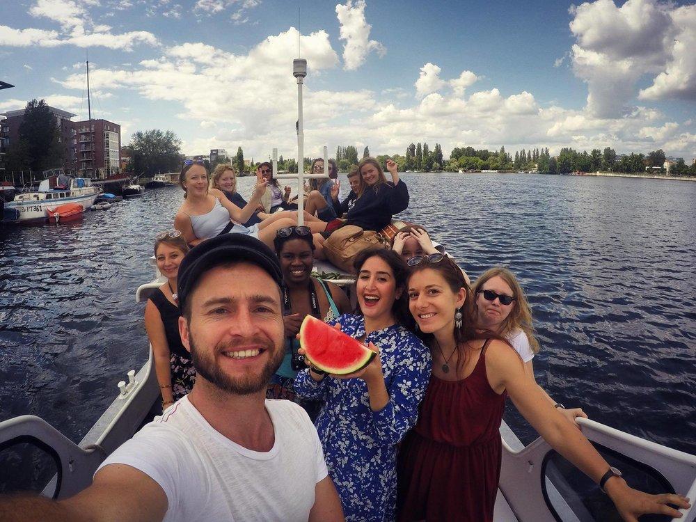 Morroccan boat trip
