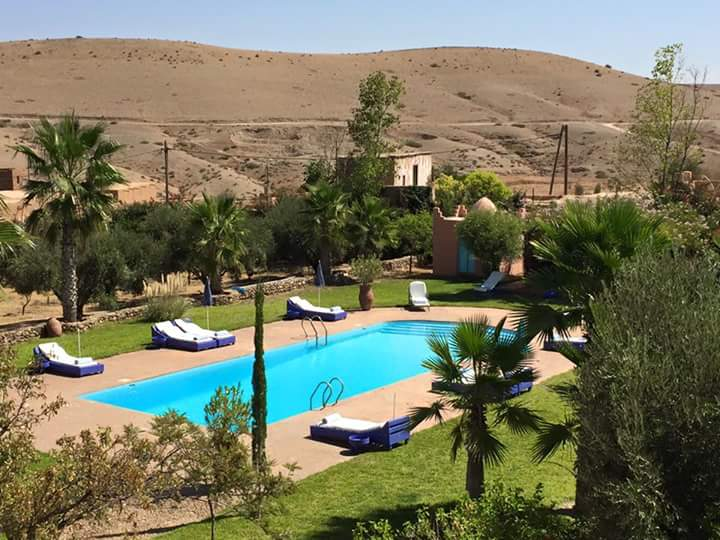 Our ecokasbah swimming pool