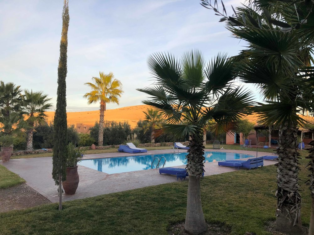 DAY 5 - The last day we will take the time to relax and enjoy the beautiful garden of the Kasbah by the pool, and benefit of what nature has to offer with a DIY natural cosmetics atelier