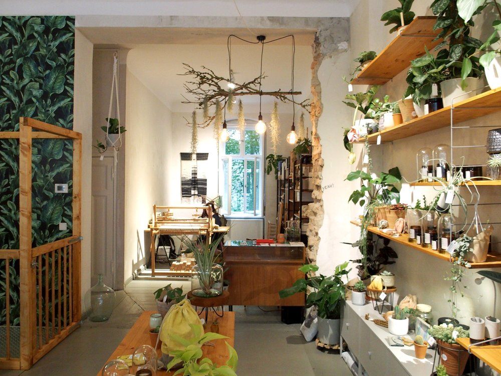 Her Atelier & plant-based shop in Neukölln, Berlin