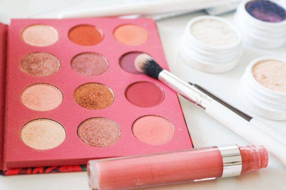 Pressed Eyeshadow Palette and Ultra Satin Liquid Lip