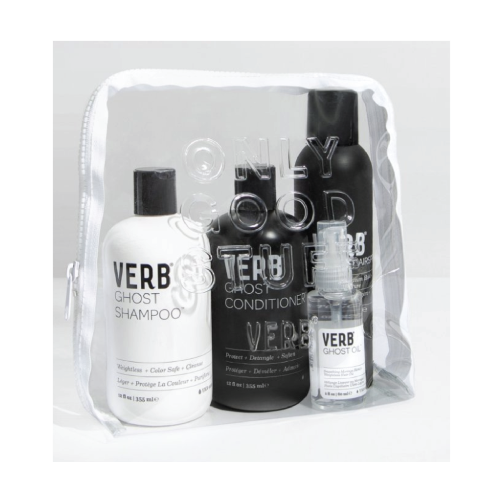 Verb Ghost Kit - $48 on VerbVerb is an amazing southern brand and also makes some great unisex products. Some of my favorites from them include Ghost Hairspray and Oil both of which are full-size in this kit!