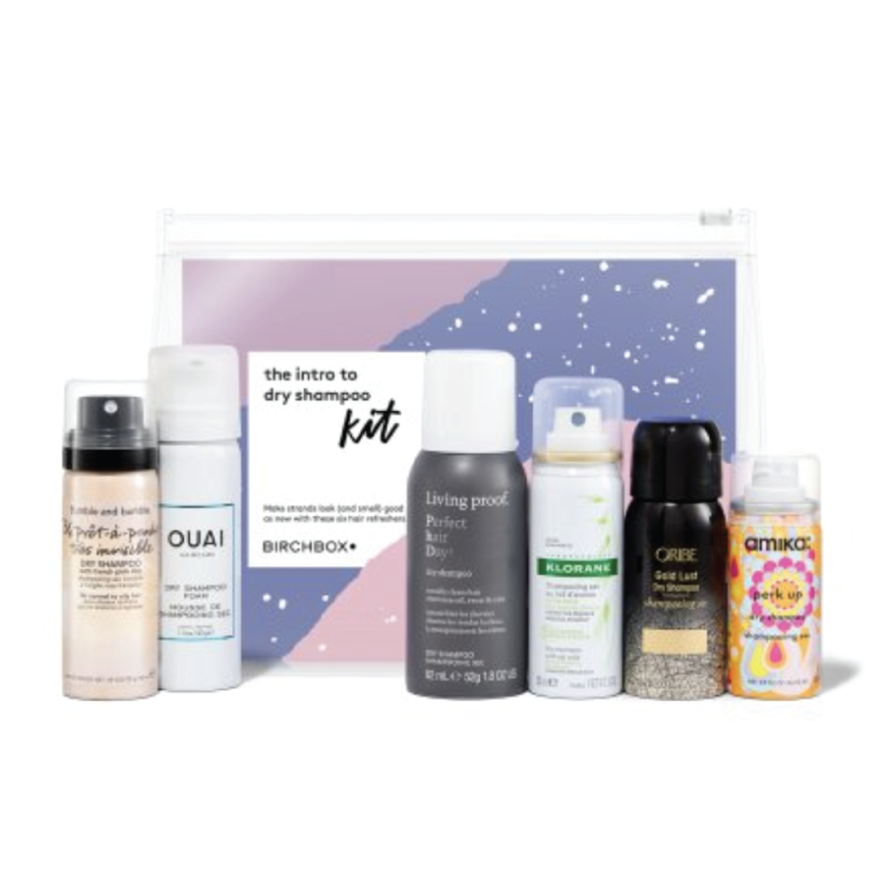 Birchbox Intro to Dry Shampoo Kit - $35 at BirchboxI've tried an insane amount of dry shampoos out, and this kit includes some of the best. If you know someone who can't live without it, this gift is perfect for on-the-go styling.