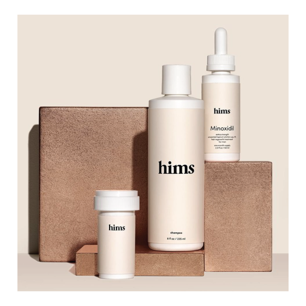 hims The Rx Hair Kit - $42 at himsKnow someone with thinning hair? It can happen at any age, but this kit is designed to help prevent fallout and promote growth.