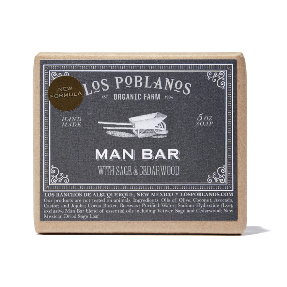 Los Poblanos Man Bar Soap - $12 at GoopHandmade at an organic farm in New Mexico, this bar is a great gift for someone who loves unique, US-made finds.