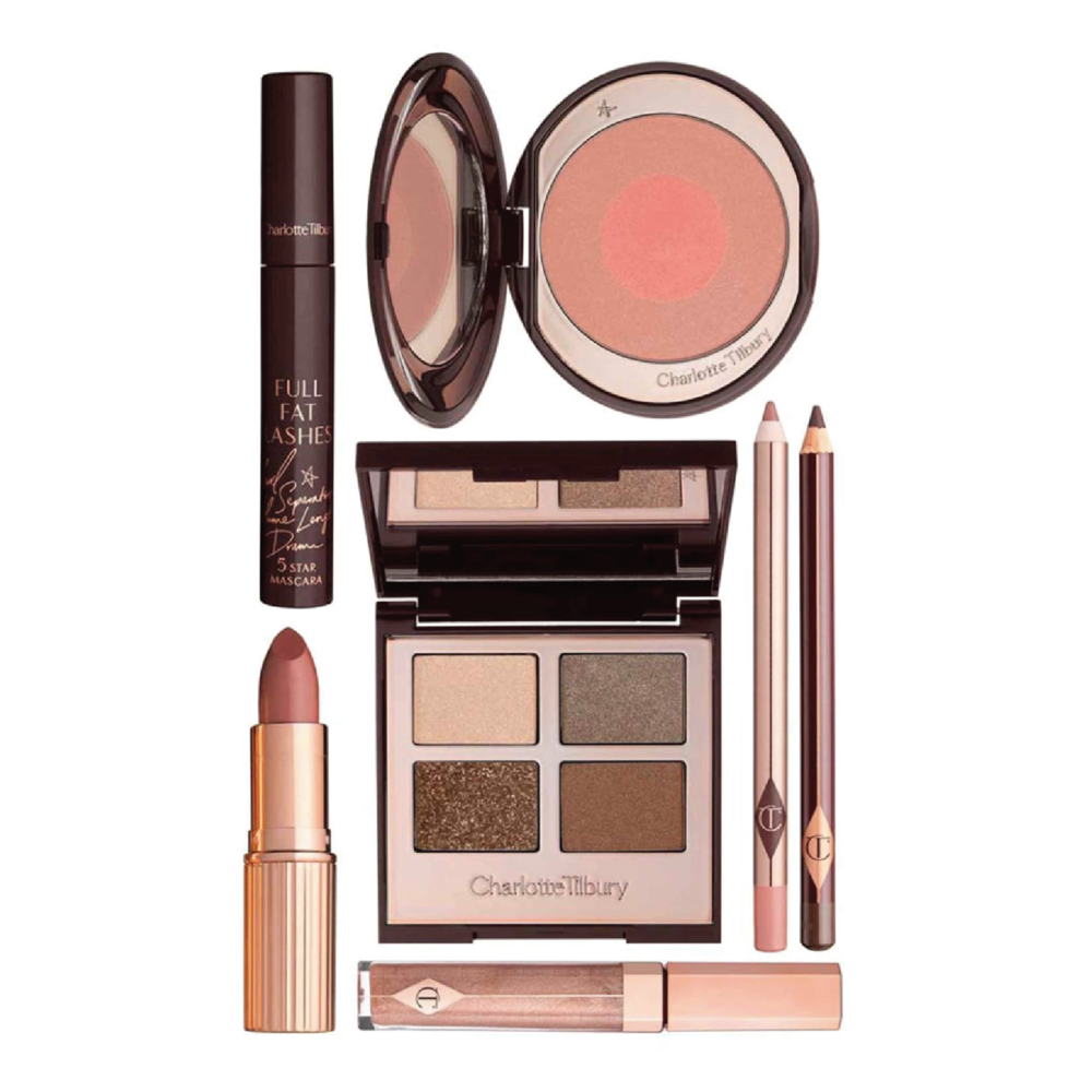 Charlotte Tilbury The Golden Goddess Set - $230 at NordstromCharlotte Tilbury is known for making the perfect products to enhance your natural beauty. Her nude shades bring out a rosy glow in any face.