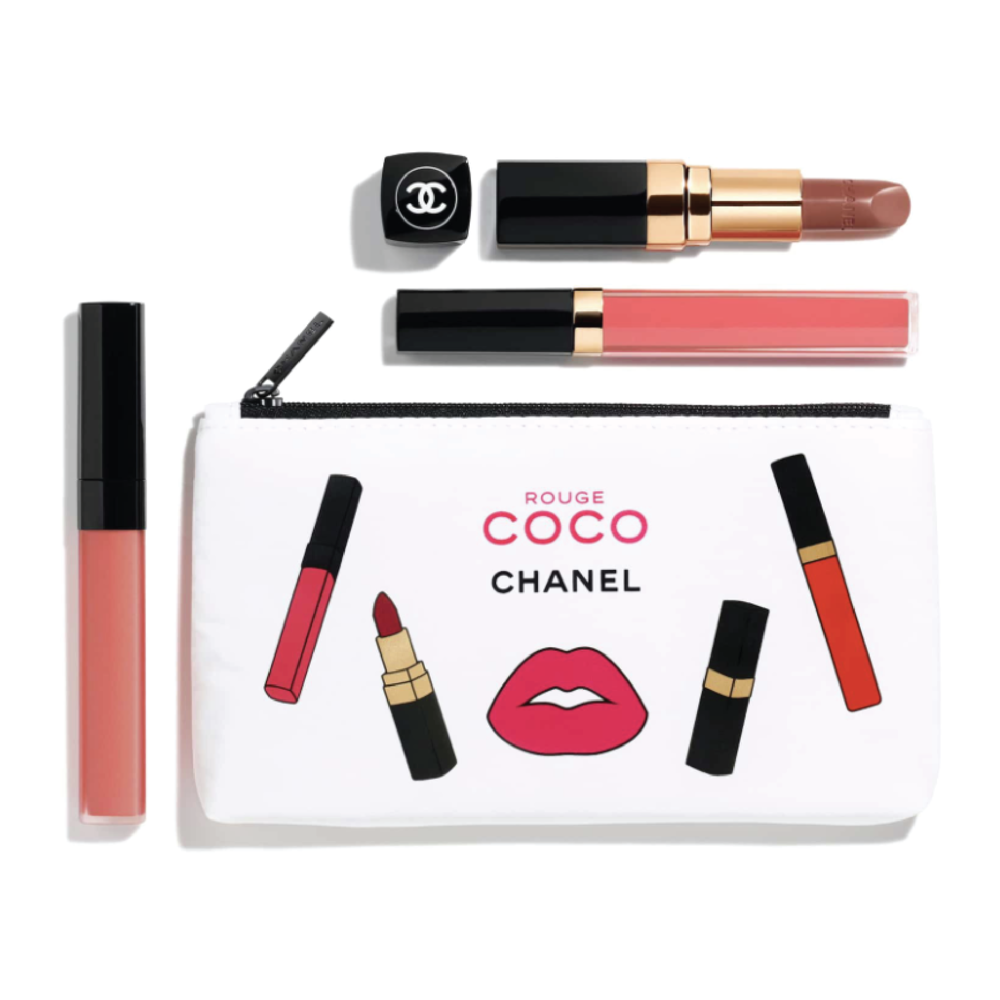 Chanel Rouge Coco Coral Set - $100 at NordstromPantone officially released that coral is the 2019 color of the year, making this a perfect luxe gift heading into the new year.