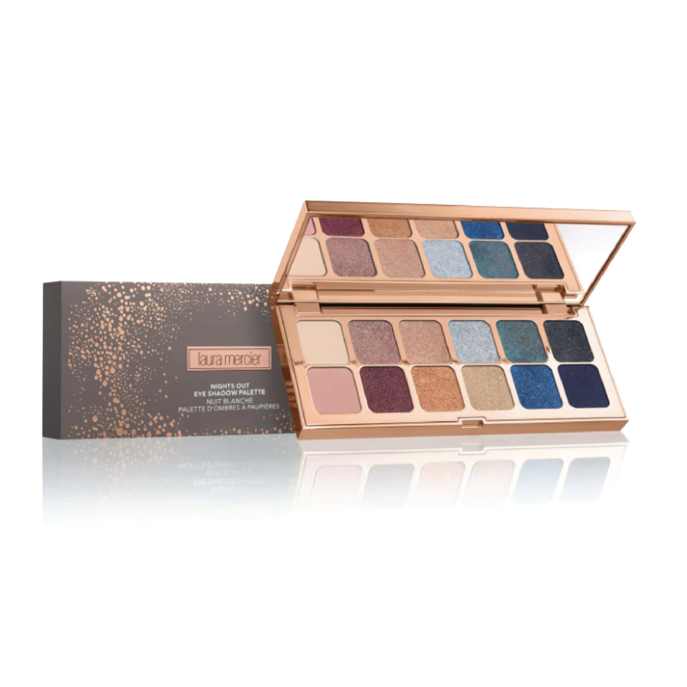 Laura Mercier Nights Out Eyeshadow Palette - $58 at NordstromThis shadow palette has every shade that is perfect for winter trends and rounding out the holiday season.
