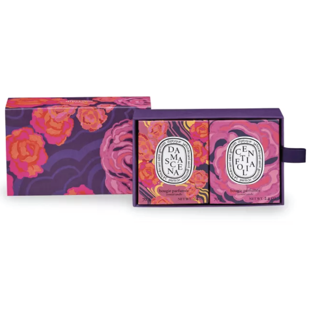 Diptyque Paris Centifolia and Damascena Small Candles Set - $76 at DiptyqueThis cute candle set makes for the best smelling home and their empty containers make for the cutest storage.