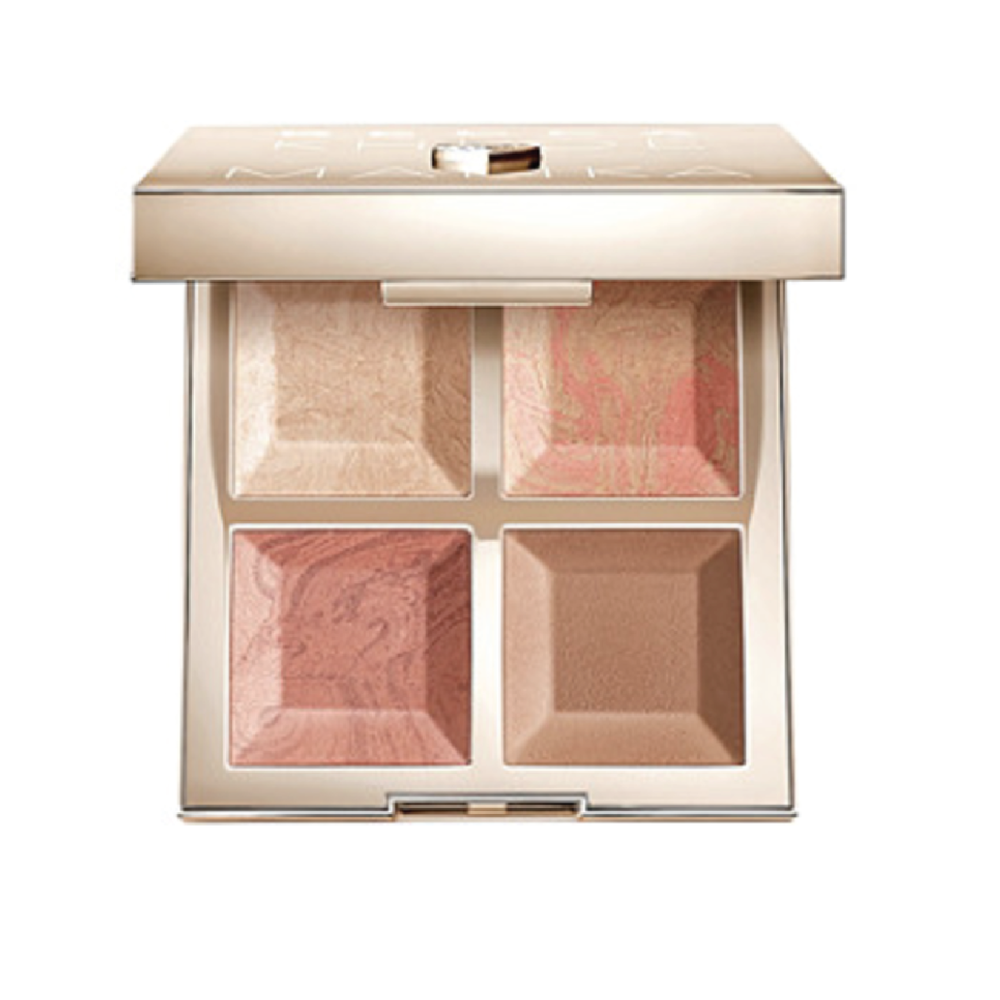 Becca x Khloé Kardashian & Malika Haqq Bronze, Blush & Glow Palette - $44 at UltaI'm obsessed with this glowy launch from besties Khloé and Malika made with Becca's famous highlighters.