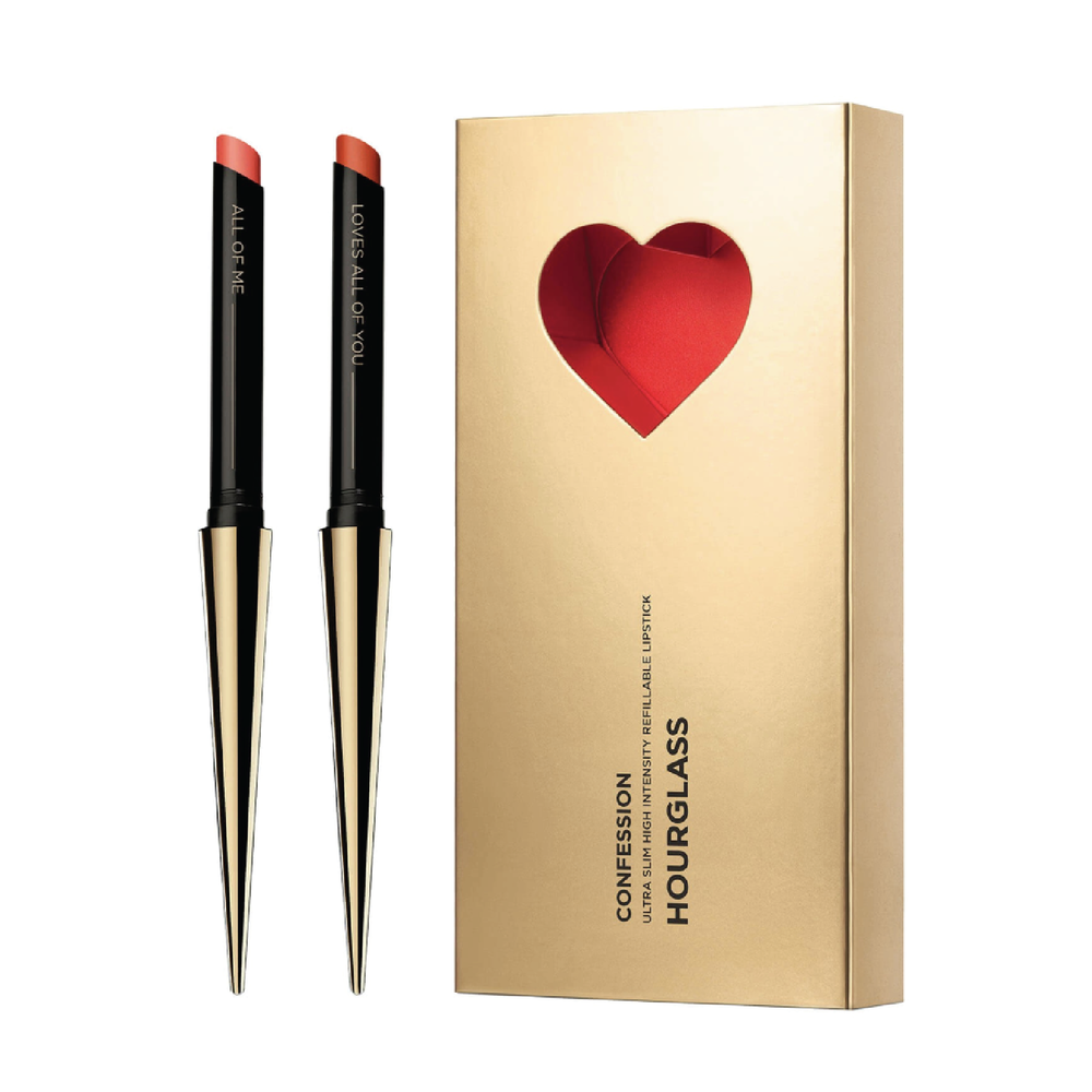 Hourglass Confession Refillable Lipstick Set - $72 at Hourglass CosmeticsThe formula of this refillable lipstick is truly amazing. It's creamy and comfortable and this limited edition set comes in classic reds for all skin tones.