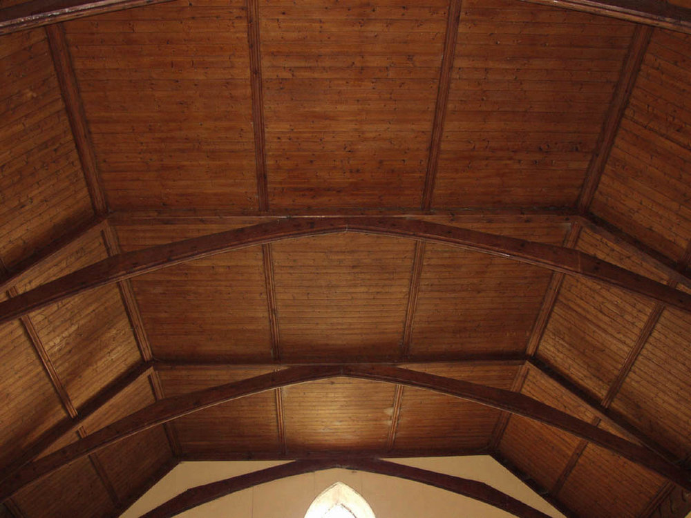 Existing ceiling