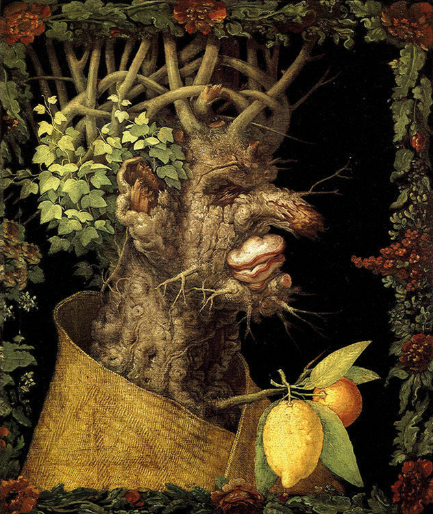 Arcimboldo,  The Winter