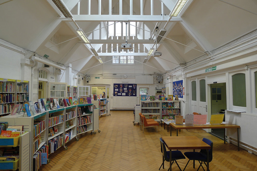 Existing Hall where the library will be located