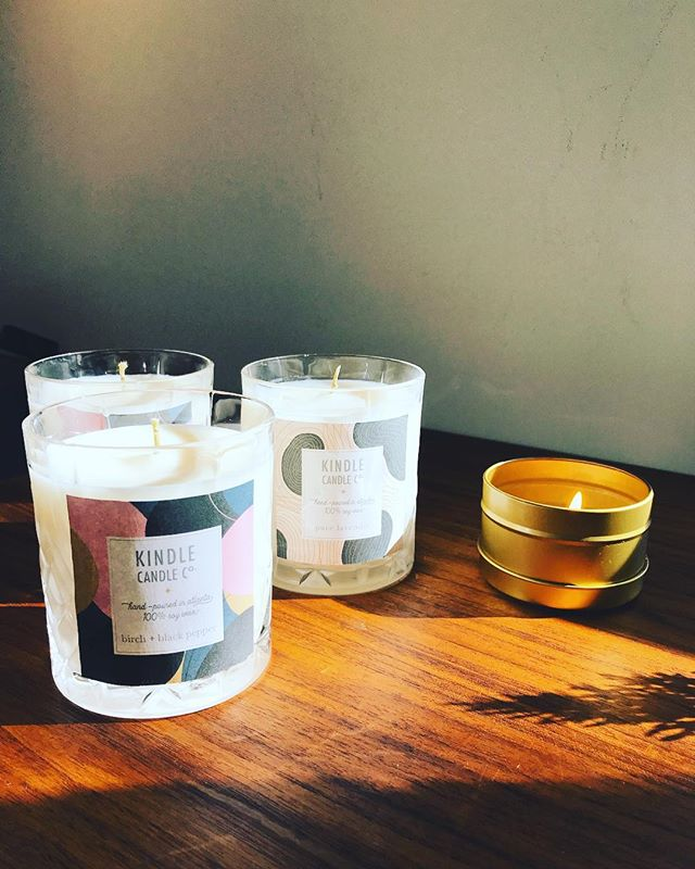 Sending off these cuties with fancy new logo + labels. ✨ Follow along my side candle-making journey (and to purchase) 👉🏼@kindlecandlecompany . . . #branddesign #illustration #candlemaking #soycandles #vegan #handdrawn #abstractart #geometricart #logodesigner #creative #graphicdesign #modernart #patterns #illustration #illustrator #fwportfolio #branddesign #branddesigner #dscolor #whitespacewinter #atlanta #atlantagraphicdesigner #design #creativeladydirectory #freelance #freelancelife #shopsmall #shoplocal #candlerpark #atlanta