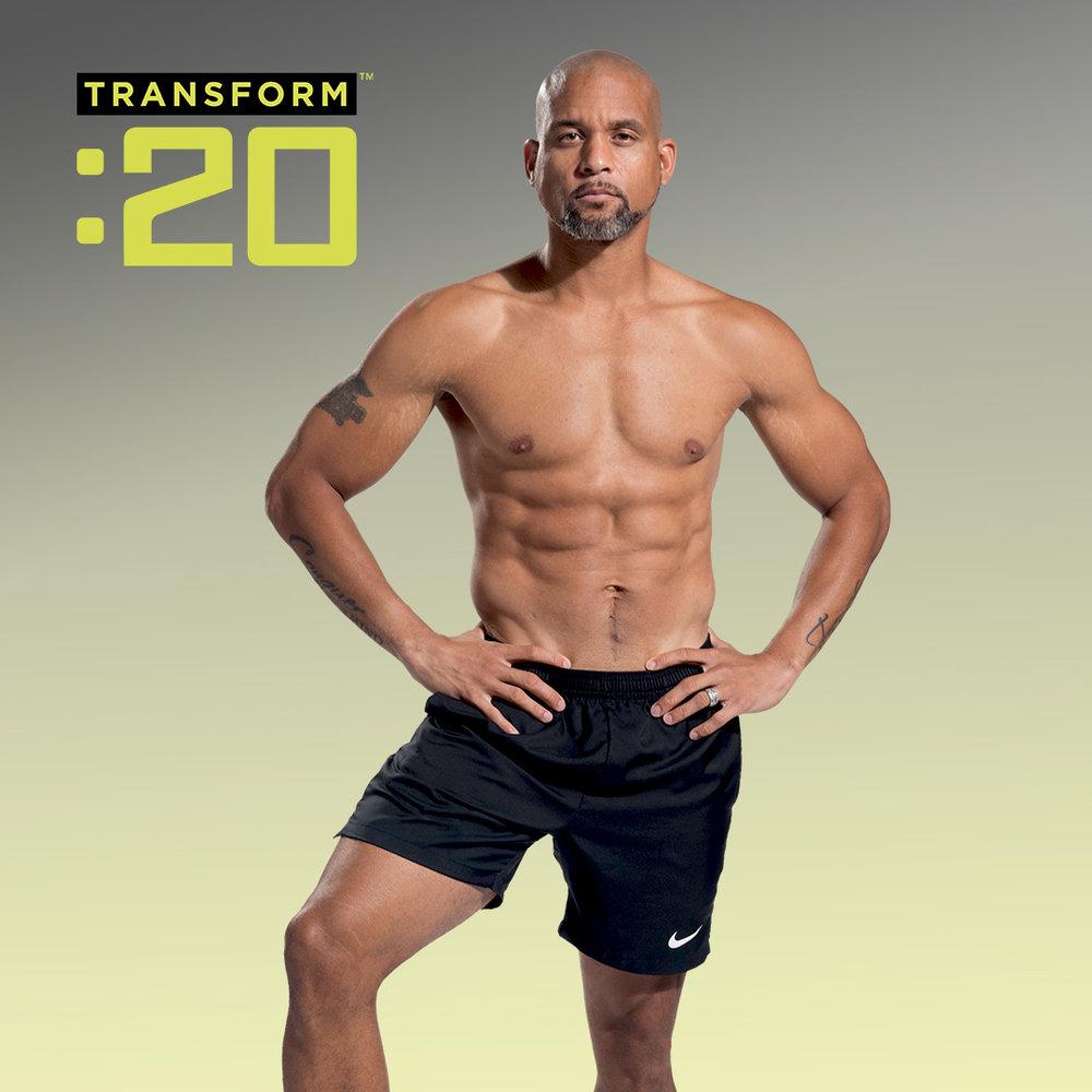 Shaun T - Super training and creator of programs like Insanity, T25, Asylum and Insanity Max:30