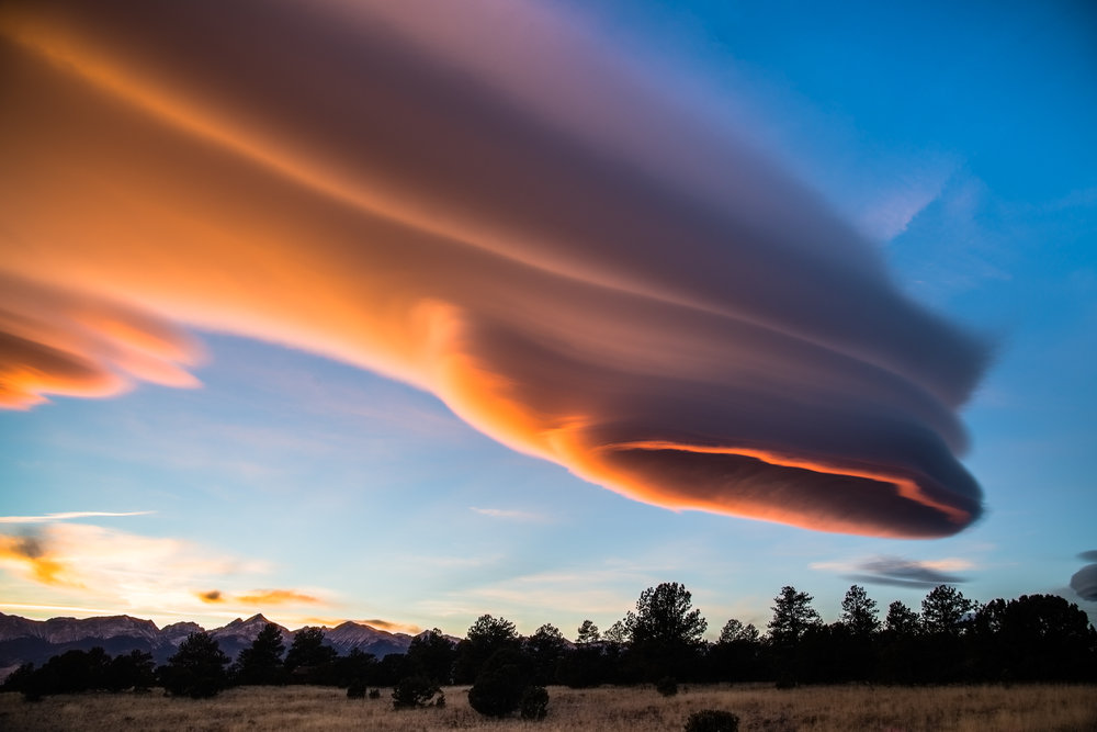 Alien Sunset Cloud I