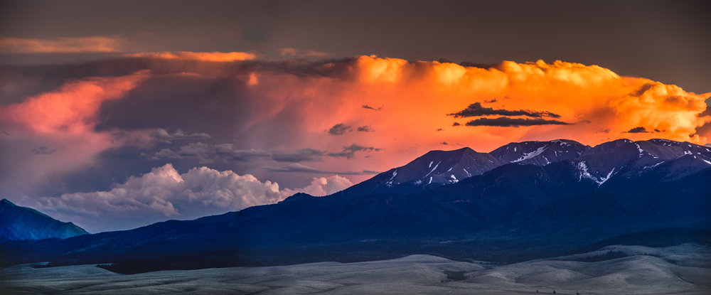 Evening Storm Over Sangres II
