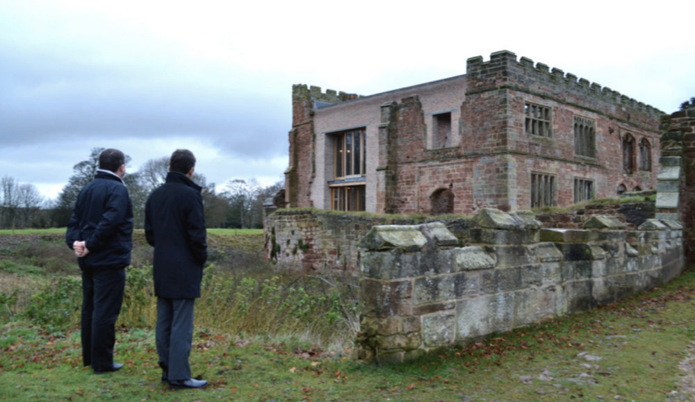 (17 Astley Castle by Witherford Watson Mann winning the Sterling Prize in 2013