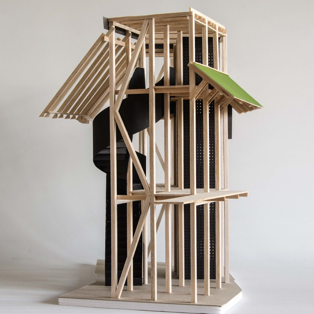 3144_The Bell Foundry_Link Block Model_New structure within the existing building.jpg