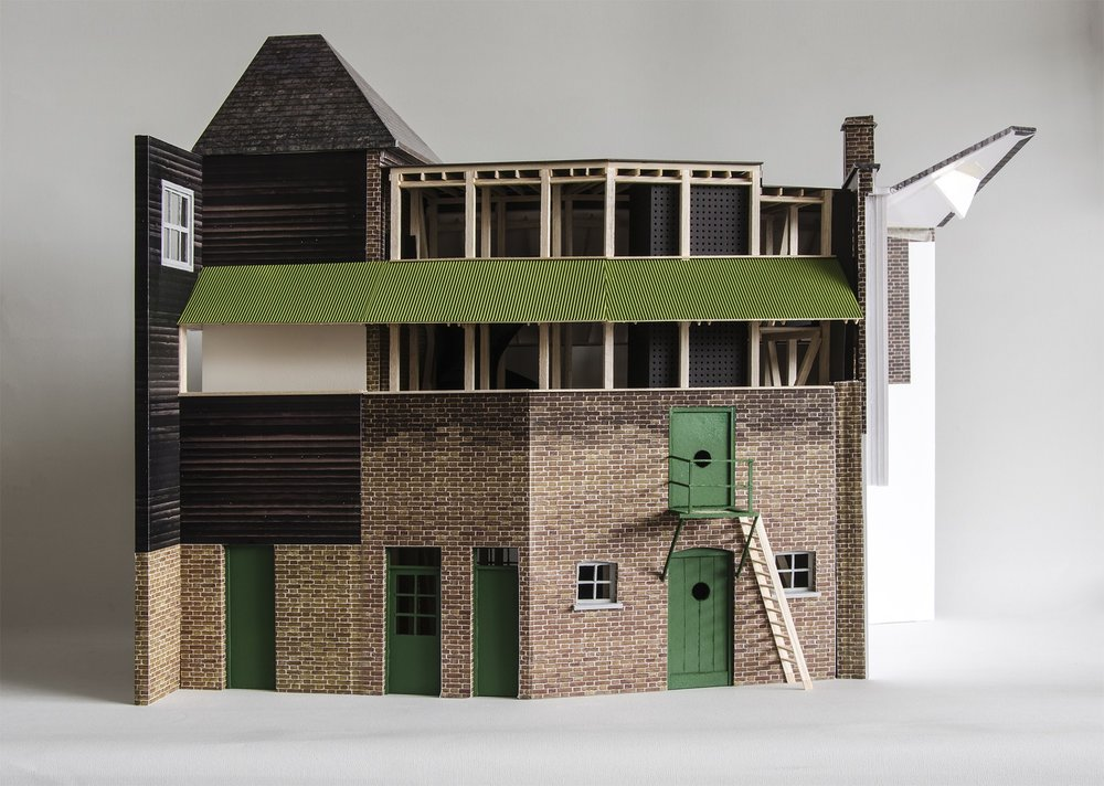 34/44 Architects: Whitechapel Bell Foundry   Photographs of 1:20 scale physical models.