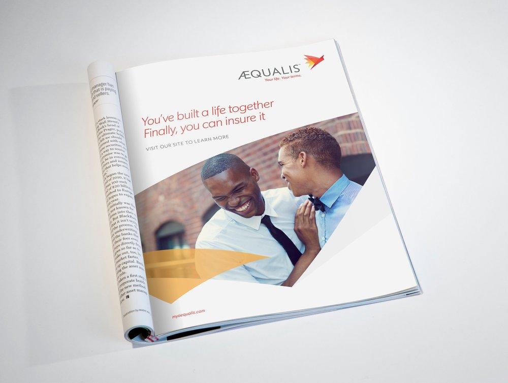 AEQUALIS:  Rebrand +LGBTQ focused Advertising