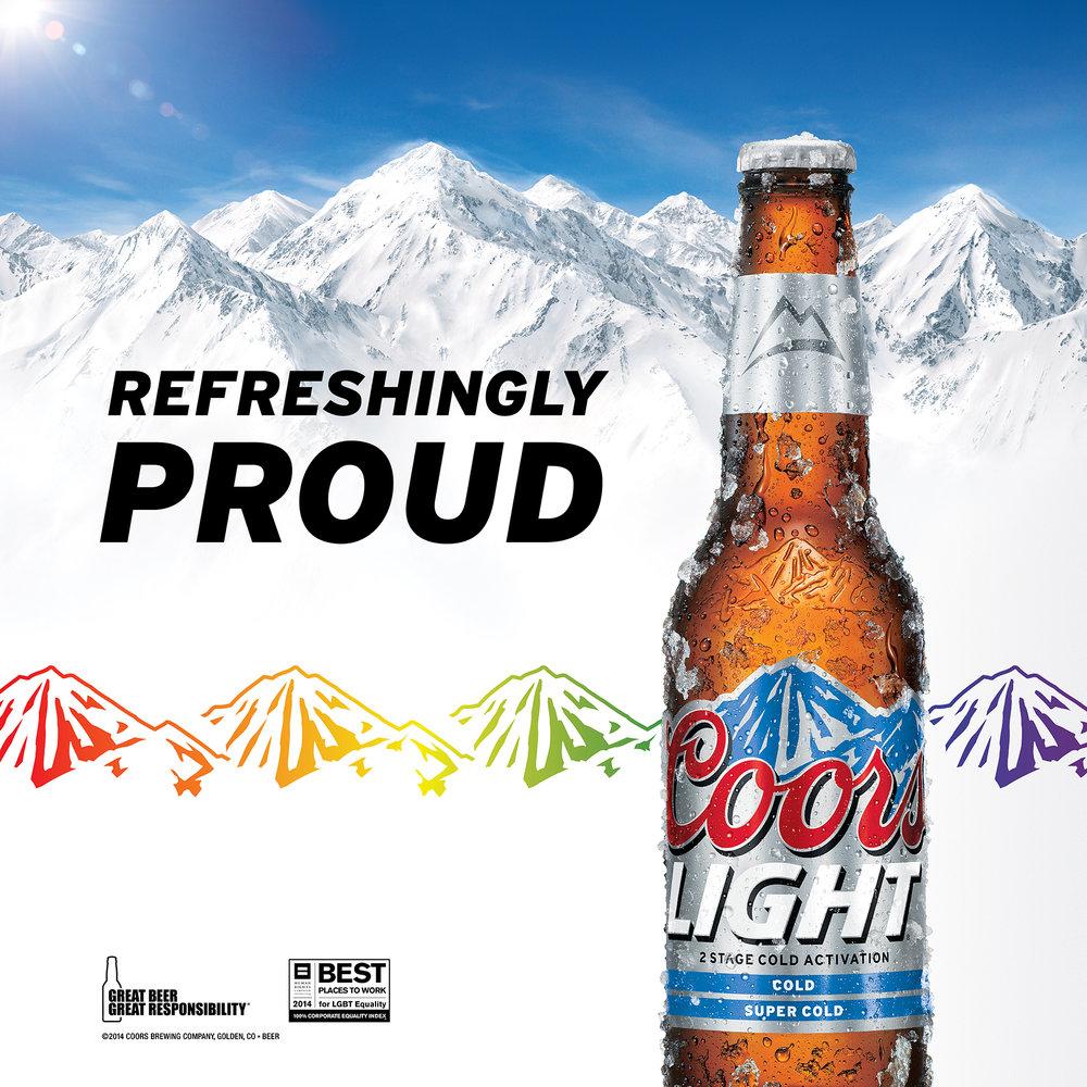 COORS LIGHT:  LGBTQ Advertising