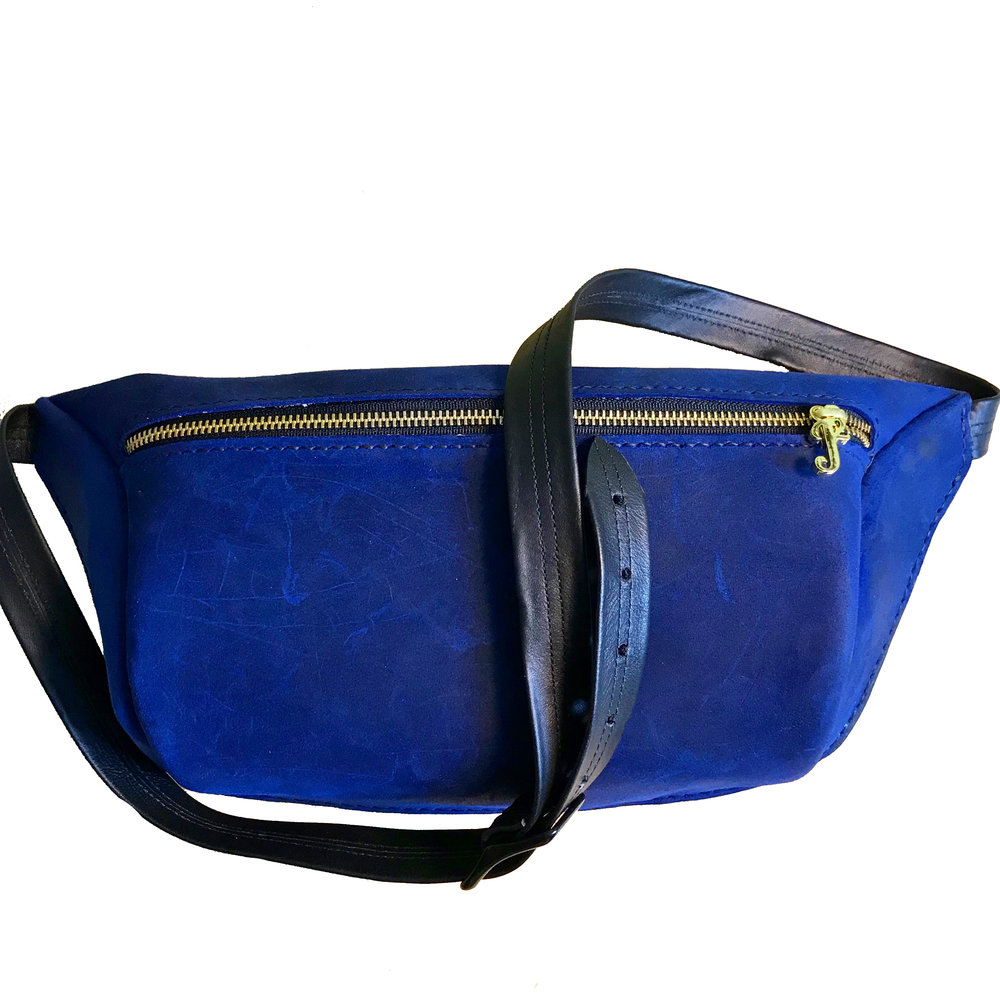 Blue Golf Cross Body Bag -