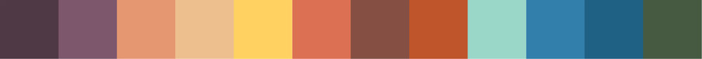 Jaws Color Palette