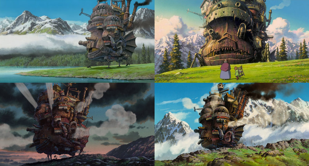 Howl's Moving Castle Screenshots