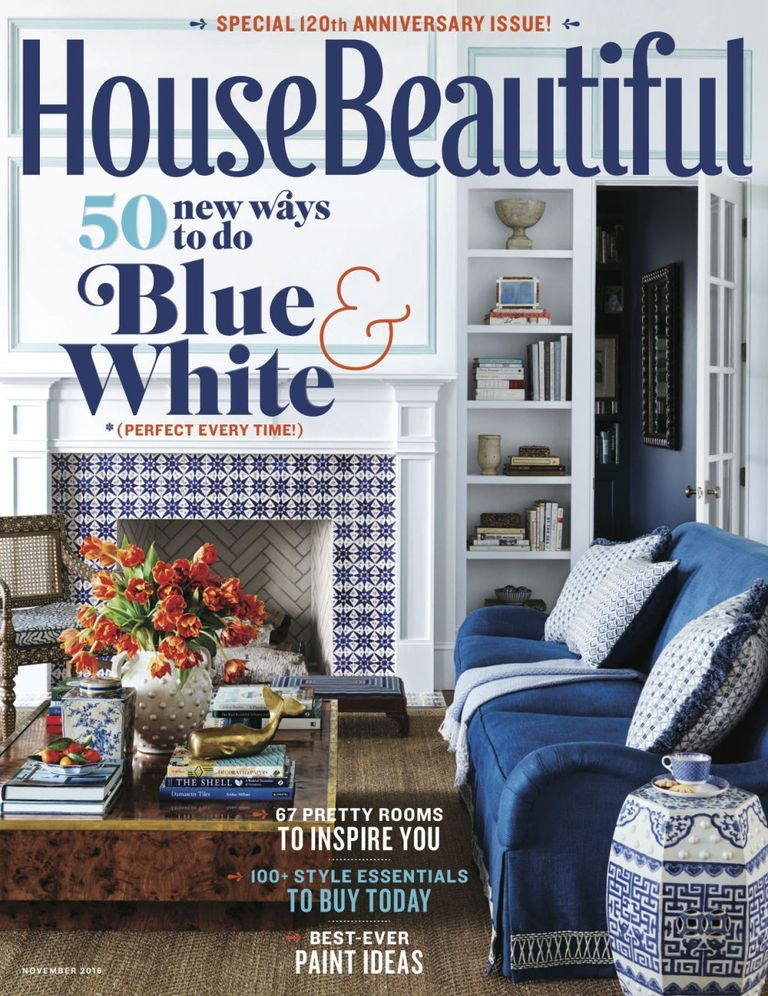 Catherine Brown Paterson - House Beautiful Holiday 2016