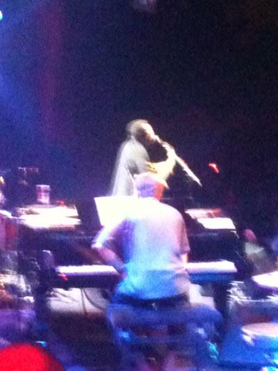 George B on Stage