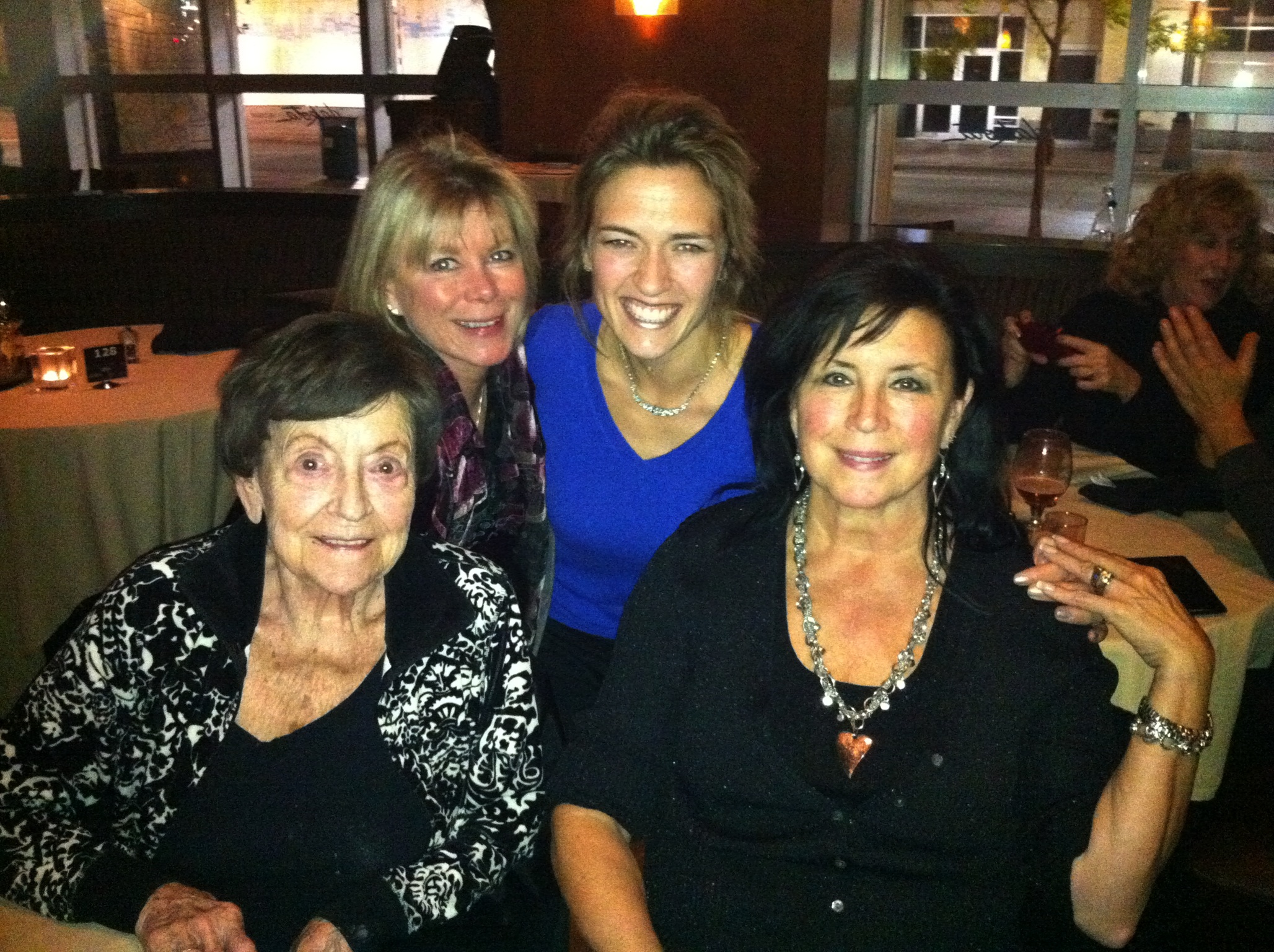 Momma, Lou Ann, Diana and Sister Patty
