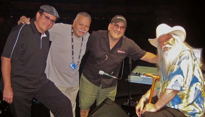 Tommy LiPuma's 75th in Montreaux: Me, Joe Sample, Dave Garfield, and Leon Russell