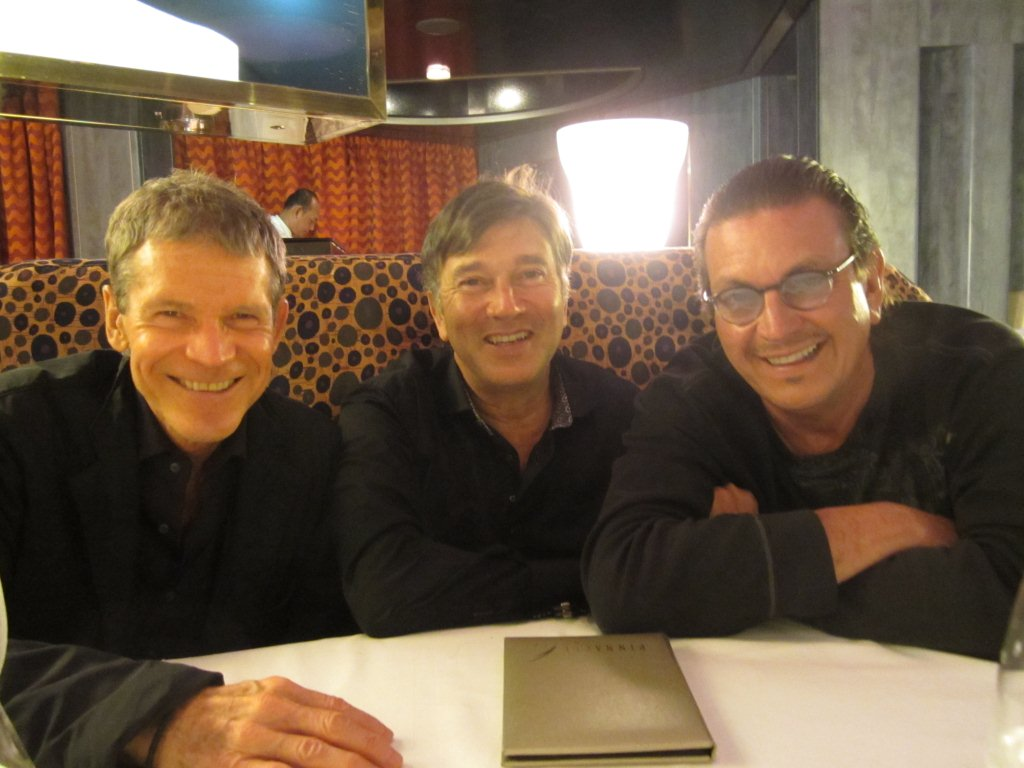 On the SJ cruise ship with David Sanborn, Rick Braun and me!