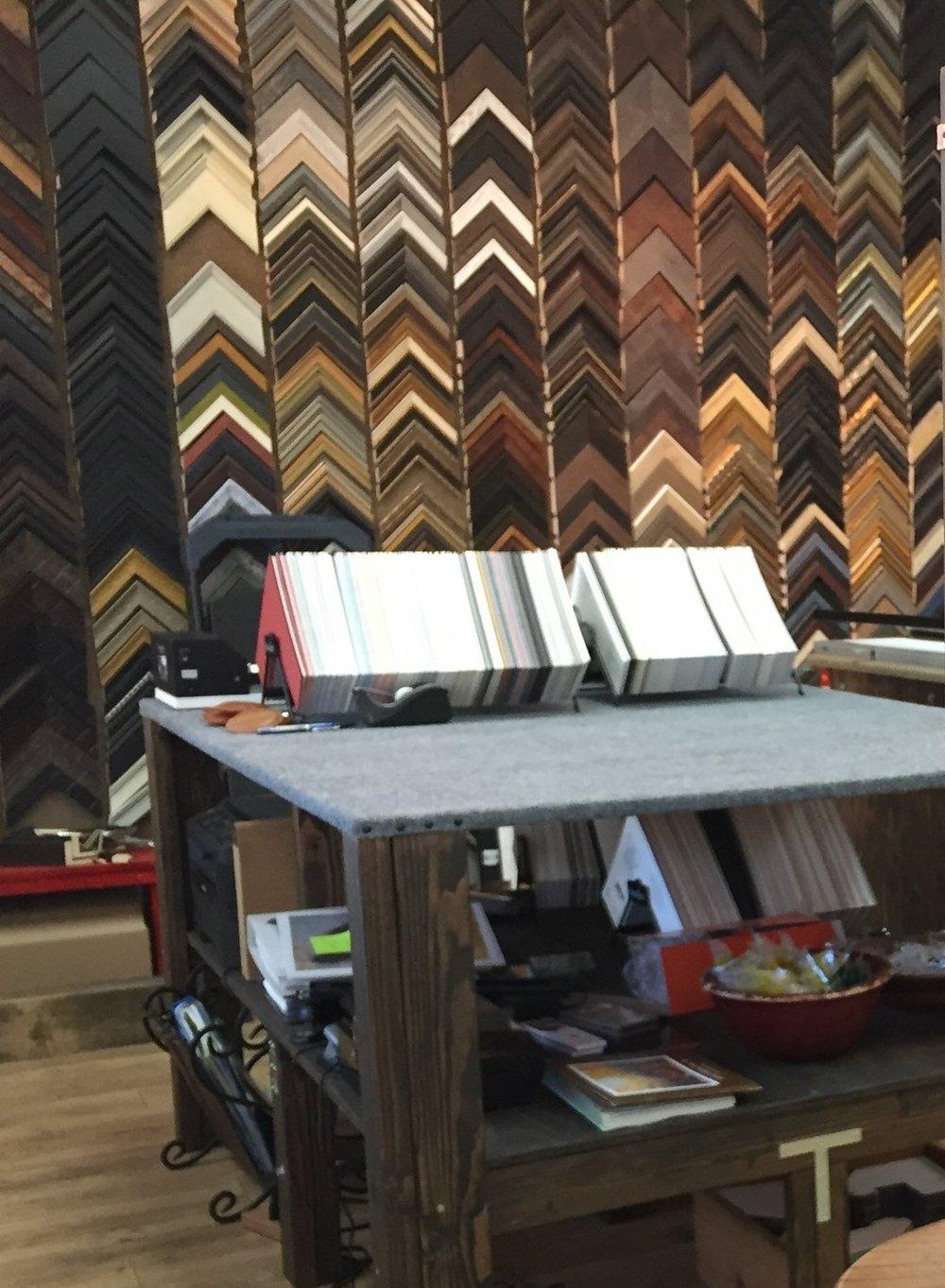 Frame shop — Wildflower Studio