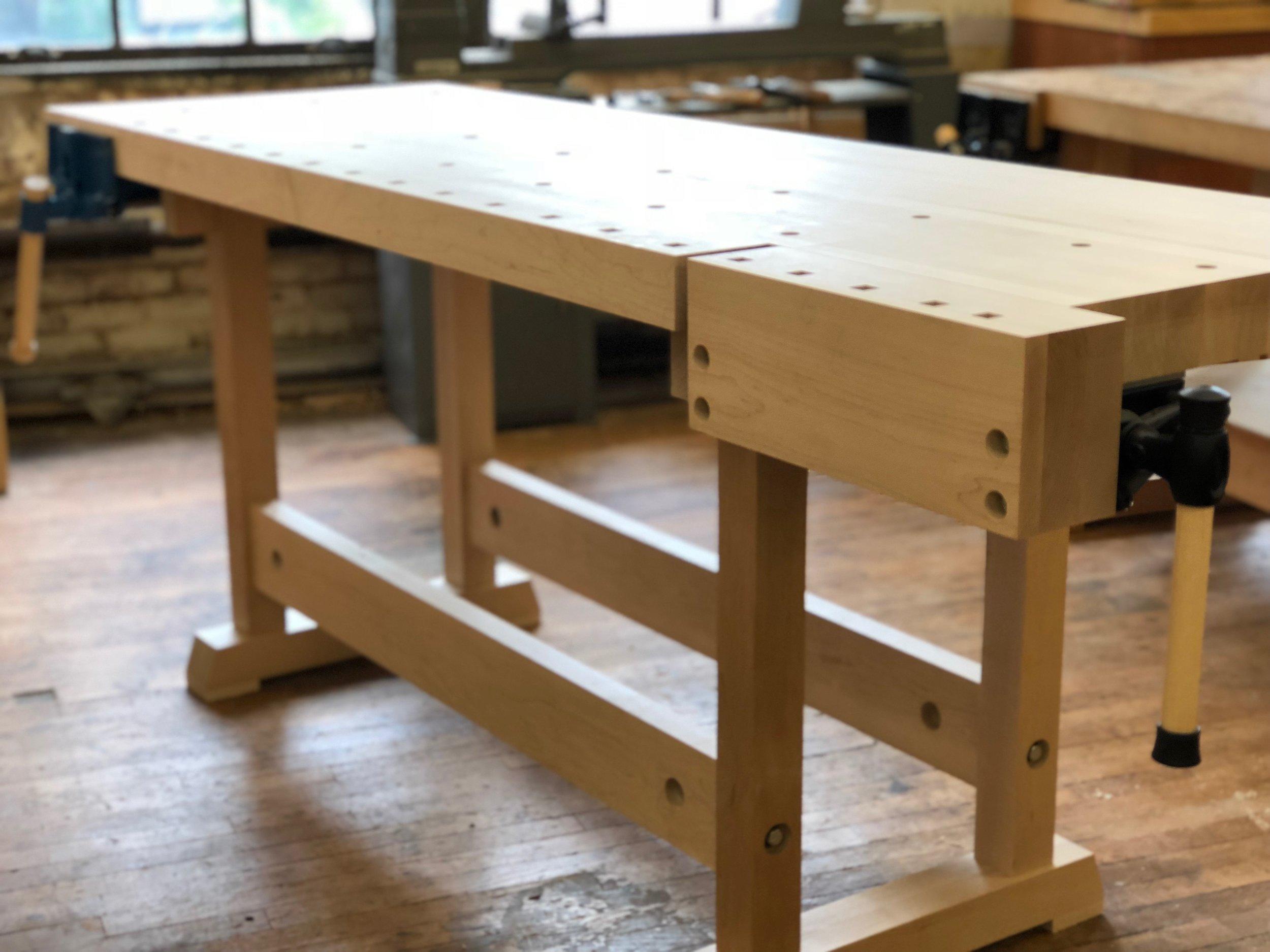 Marvelous Joiners Workbench Philadelphia Furniture Workshop Dailytribune Chair Design For Home Dailytribuneorg