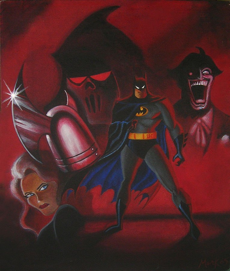bruce timm poster motp