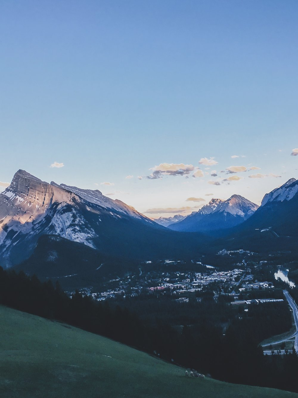 Viewpoint at Mt. Norquay