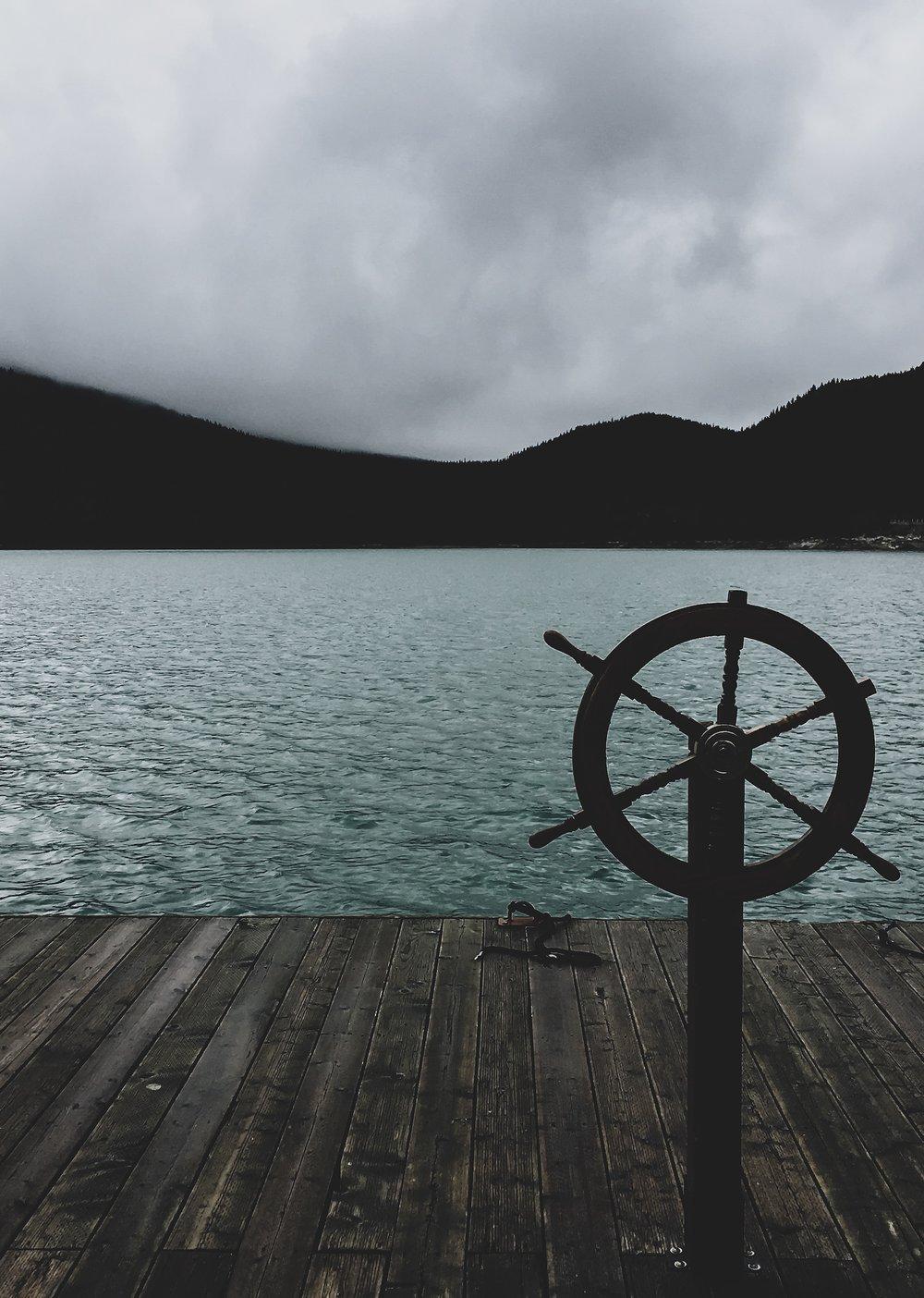 The Dock at Lake Minnewanka