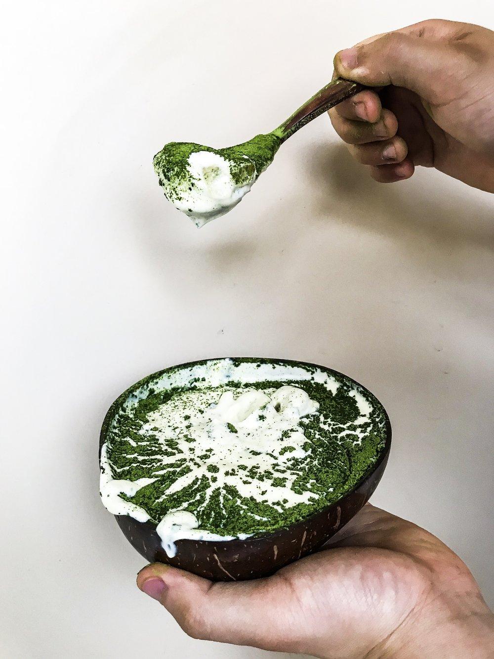 Copy of Matcha Coconut Tiramisu