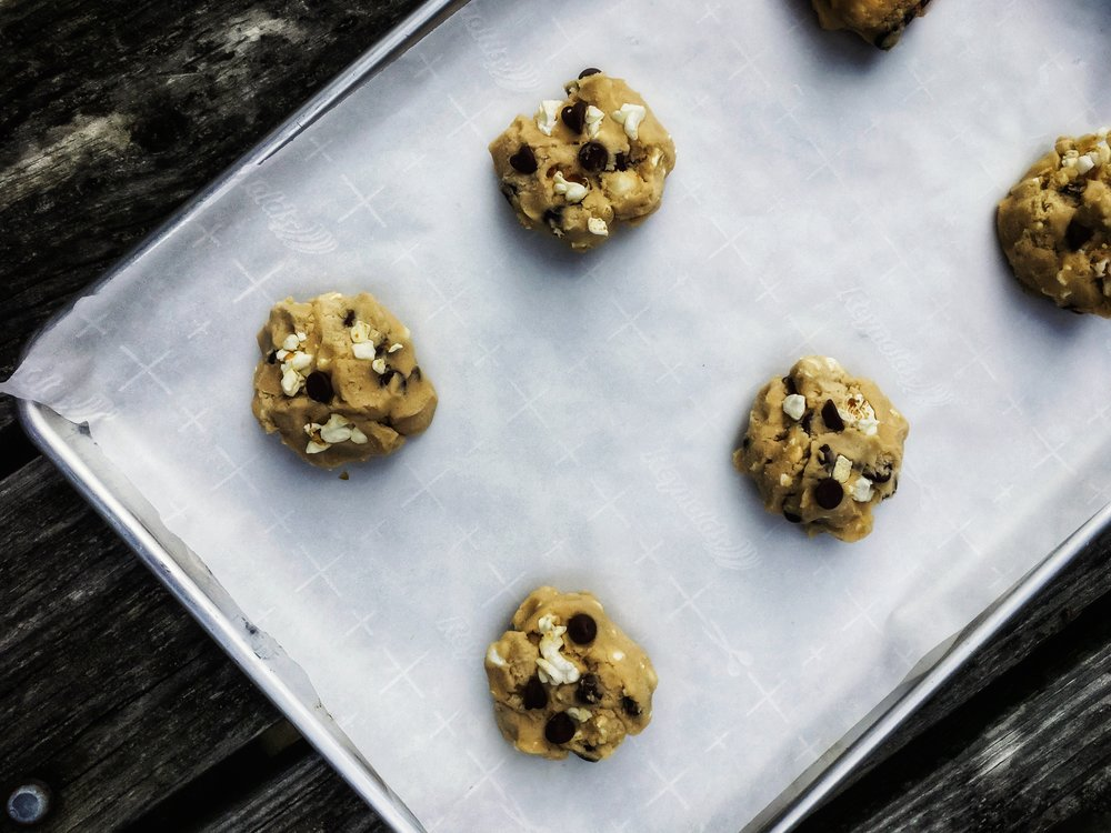 Trail Mix Cookie Dough
