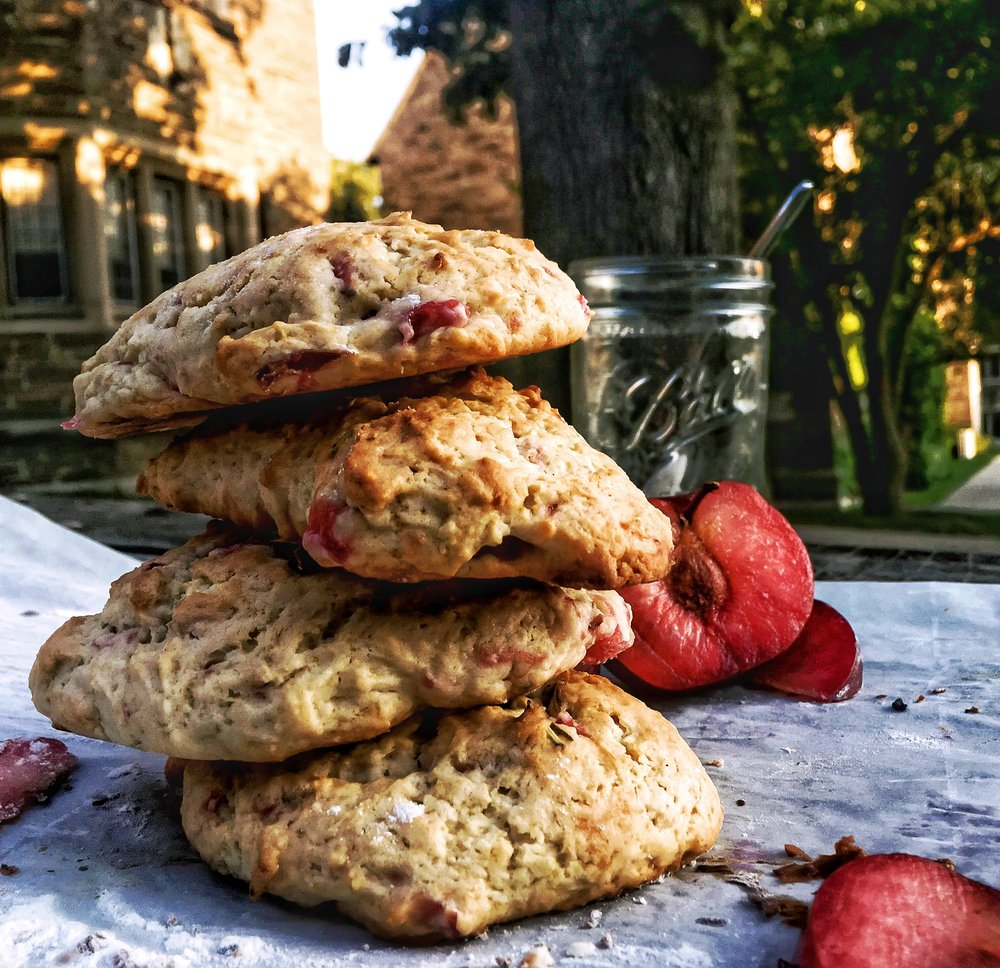 Rosemary & Plum Scones