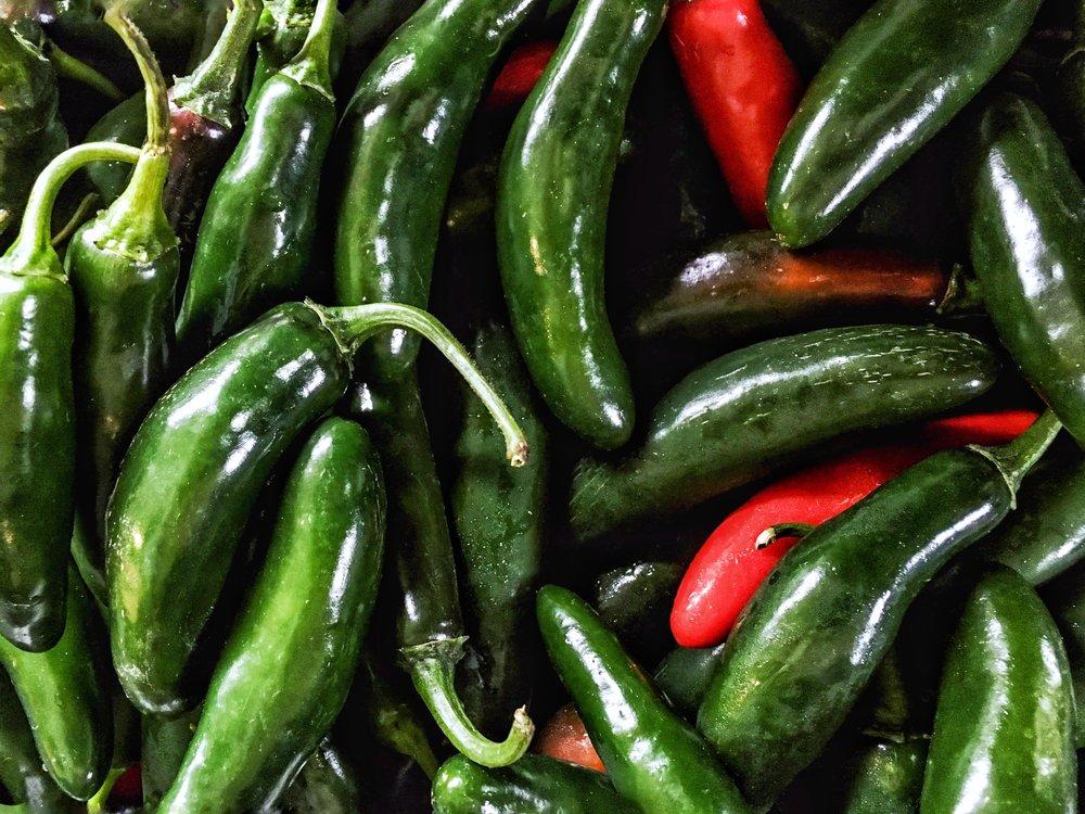 Farmers Market - Peppers