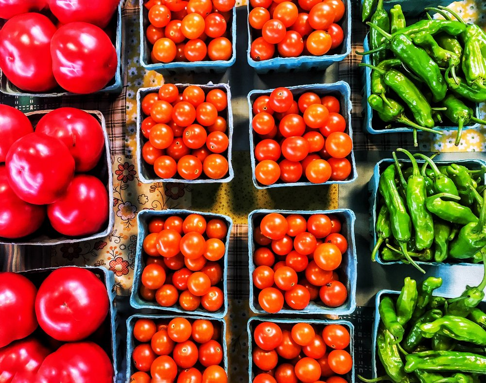 Farmers Market - Tomatoes