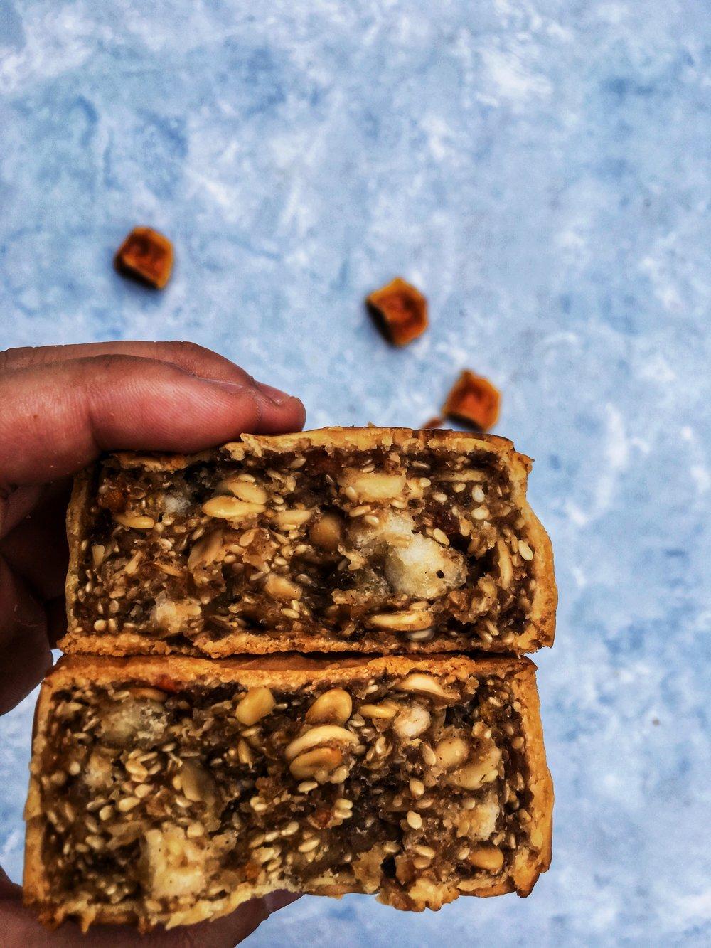 Mixed Nut Mooncake